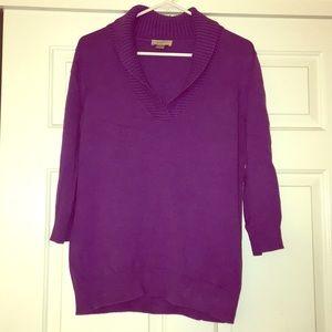 Purple sweater